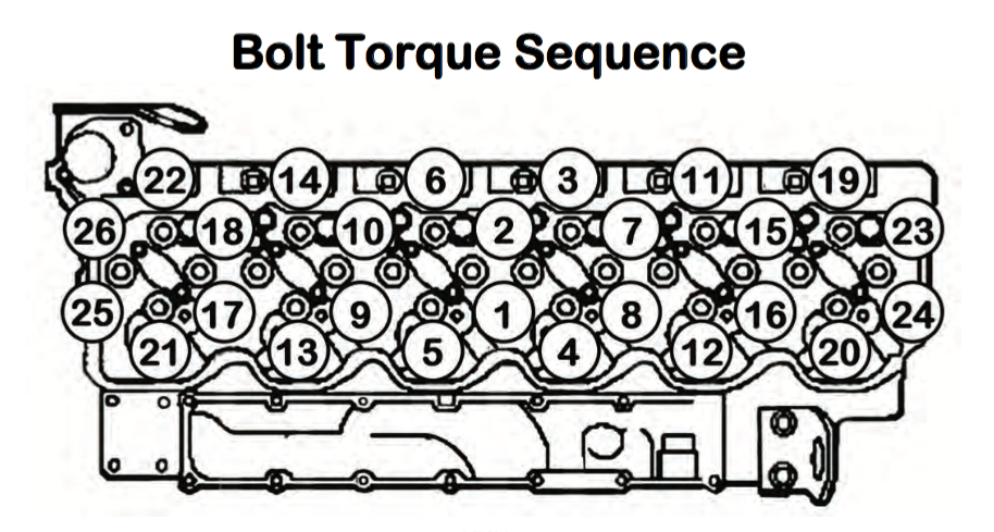 Yanmar engine bolt Torque spec